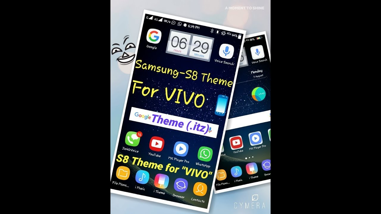2017 VIVO PHONE Themes SAMSUNG S8 theme for VIVO