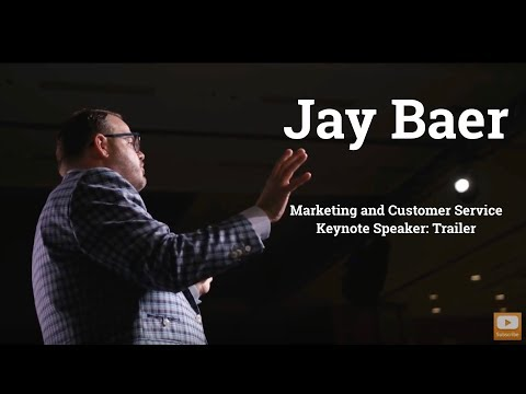 Jay Baer Marketing and Customer Service Keynote Speaker - Trailer