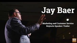 Gambar cover Jay Baer Marketing and Customer Service Keynote Speaker - Trailer