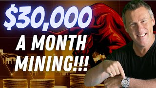 MAKE $30K MINING BITCOIN CRYPTO UPDATE ETHER BITCOIN Cryptocurrency NEWS Bitcoin Dogecoin NFT Solana