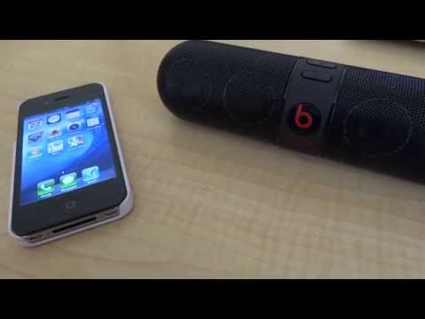 How to Connect a Beats Pill Bluetooth Speaker
