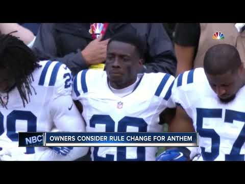 NFL Controversy anthem rule