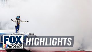 FINAL LAPS: Chase Elliott wins at the Roval | NASCAR on FOX HIGHLIGHTS