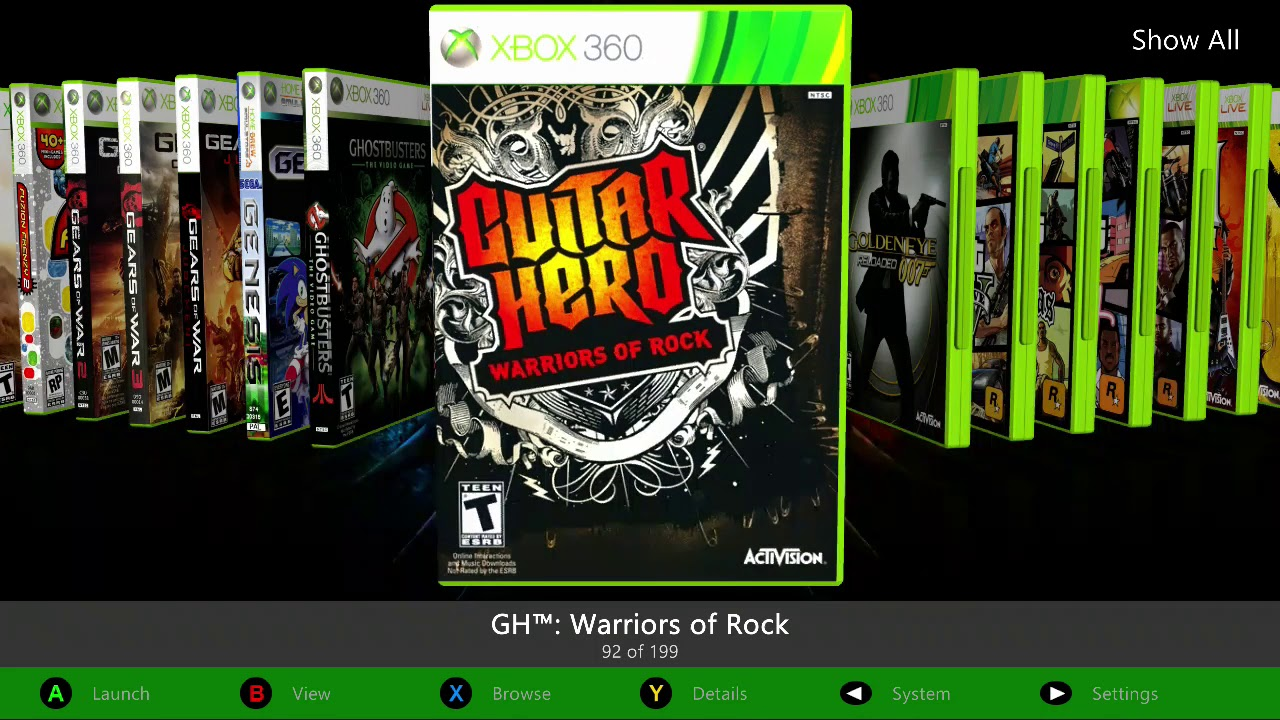 Xbox 360 Chip Rgh 1tb Lista De Juegos 2018 Dlcs Youtube
