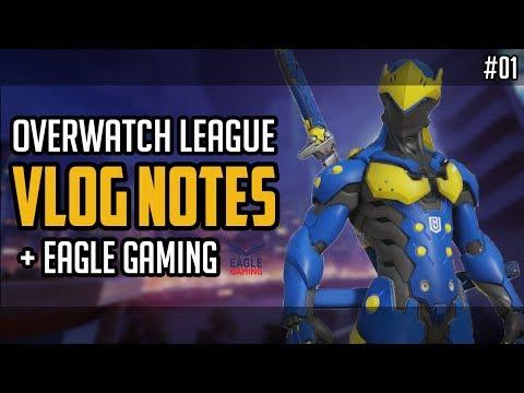 Les débuts d'Eagle Gaming, la surprise Boston Uprising et aKm en Overwatch League  - Vlog Notes #1