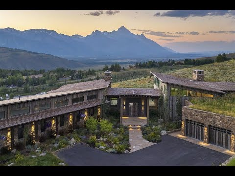 Dynamic Sprawling Residence in Jackson, Wyoming | Sotheby's