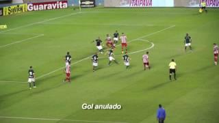 Lance polêmico - Jogo Goiás x Náutico