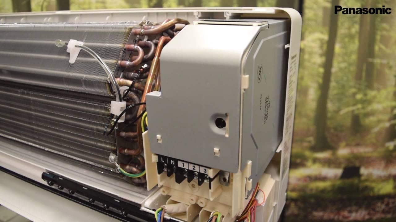 Air Conditioner Fan >> Bytte av viftemotor for Panasonic Flagship - YouTube