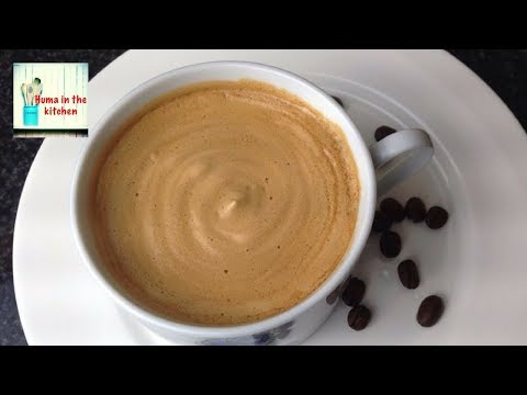 Coffee Recipe Without Machine in 5 minutes – Frothy Creamy Coffee Homemade by (HUMA IN THE KITCHEN)