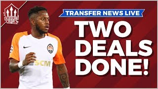 FRED & DALOT Deals DONE! Manchester United Transfer News