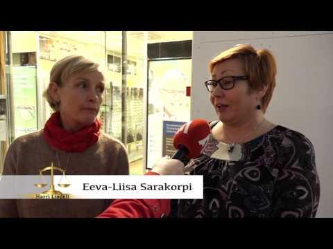 Harri Lindellin haastattelussa kansanedustaja Juho Eerola, aiheena Miesten asema avioerotilanteessa.