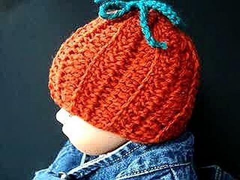 Crochet Pattern Little Pumpkin Hat Or Bathroom Tissue Cover