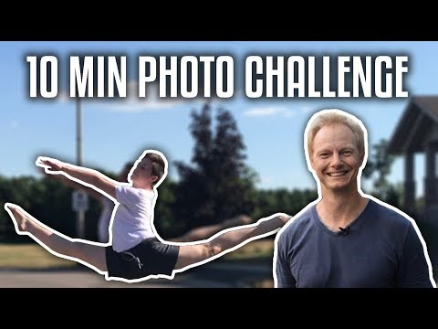 10 MINUTE PHOTO CHALLENGE WITH ANDREW CURTIS!! (the ratchet way)
