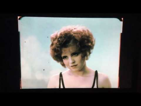 Red Hair. 1928 Only surviving colour film of Clara Bow