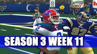 PLAYING GOOD AND BAD? - ESPN NFL 2K5 BILLS FRANCHISE VS RAMS (S3W11)