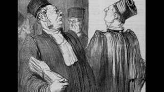 Lawyers caricatures, created by Daumier