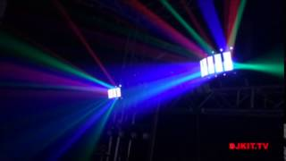 first look at the chauvet gig bar irc 4 in 1 gig bar with remote control