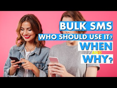 Bulk SMS: who should use it, when and why?