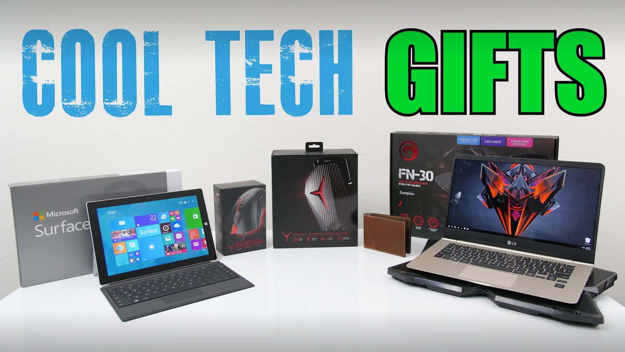 cool tech gifts 2016 youtube