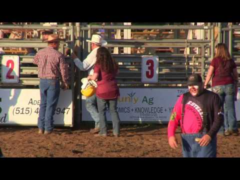 Hunter Mutton Bustin' Dallas County Fair 2017