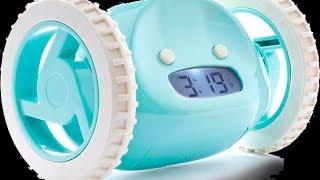 Убегающий будильник Clocky(Убегающий будильник Alarm Clocky Run настоящая находка для тех, кому очень сложно просыпаться по утрам. Когда наст..., 2014-07-02T13:02:10.000Z)