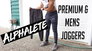DID THEY DISAPPOINT?   ALPHALETE REGULAR & PREMIUM JOGGERS REVIEW   LEG DAY