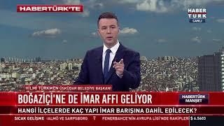 Üsküdar, Beykoz ve Sarıyer'e imar affı...