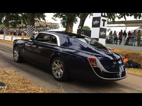 13m rolls royce sweptail first driving shots youtube. Black Bedroom Furniture Sets. Home Design Ideas