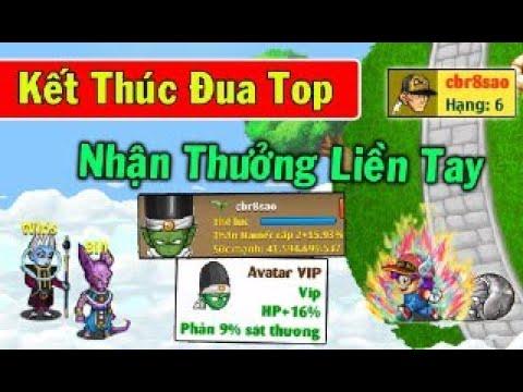 Ngọc Rồng Online – Cbr8sao Kết Thúc Đua Top Sv8…Nhận Thưởng Liền Tay…Lên Đời Avatar VIP !