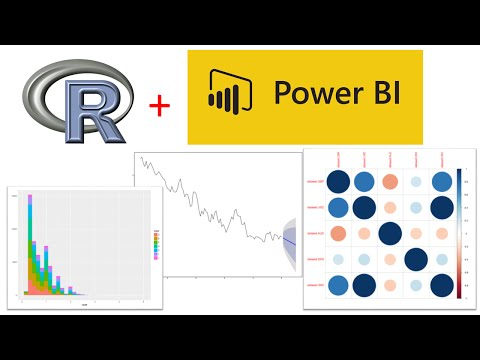 R Visualisations within Power BI (using R and Power BI)