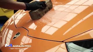 Construction Brick vs MAGNUS PRO Paint Protection Film PPF