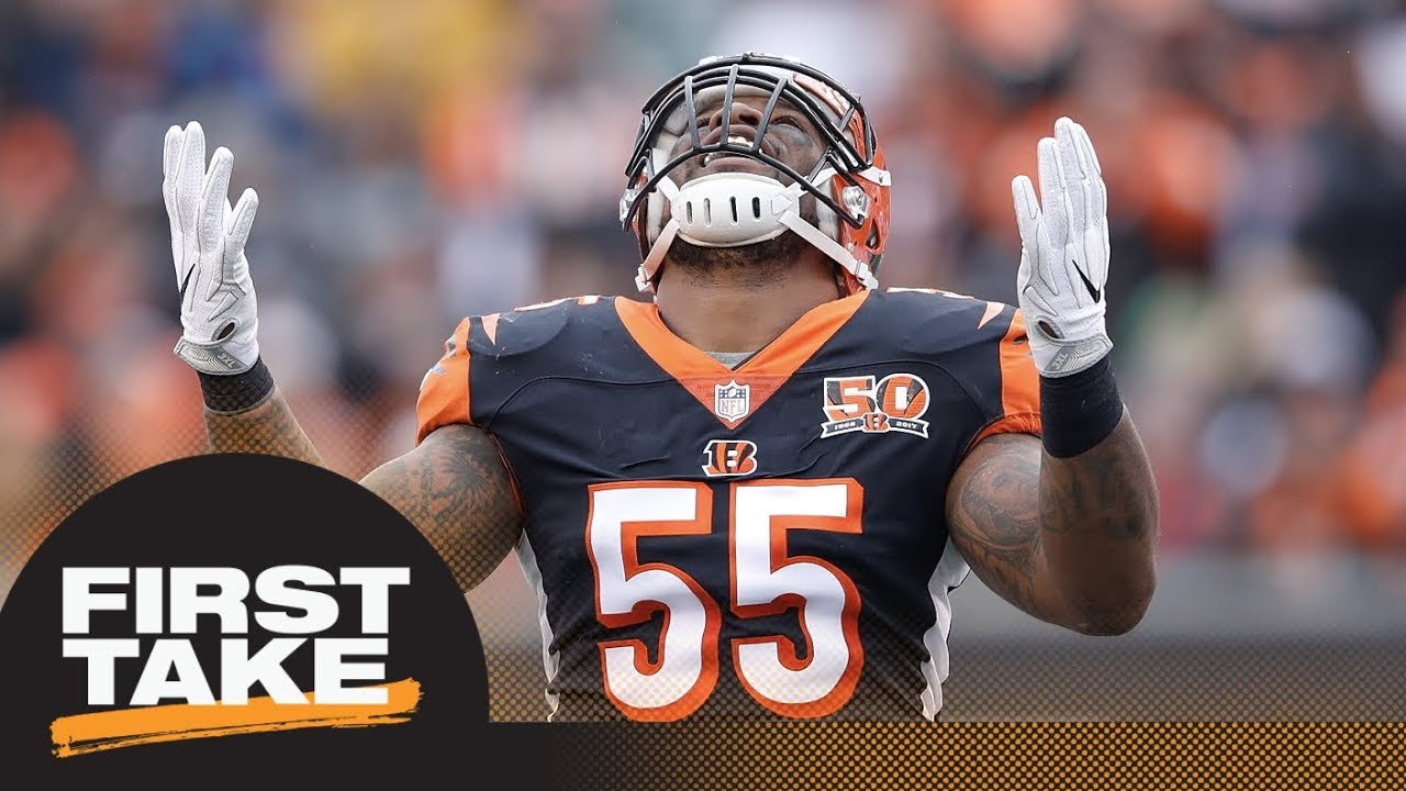 half off 6b945 5f1b5 Stephen A. and Max agree: Bengals shouldn't cut Vontaze Burfict if  suspended | First Take | ESPN
