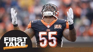 Stephen A. and Max agree: Bengals shouldn't cut Vontaze Burfict if suspended | First Take | ESPN