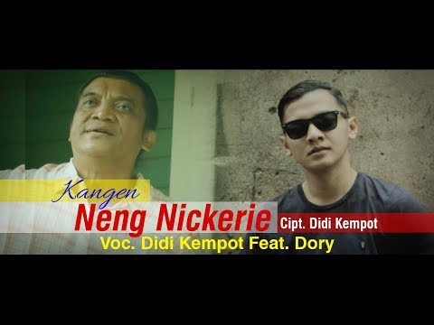 Didi Kempot Feat Dory Kangen Neng Nickerie Official Youtube