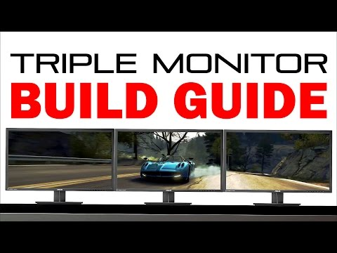 Triple Monitor Mount Diy Doovi