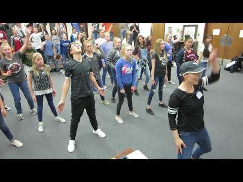 This is ME  Snowflake Junior High School Rehearsal 1 8th grade + Women's Choir