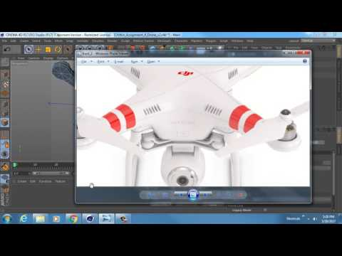 MACA 2510 Winter 2017 - Assignment 4 - Drone Rough Modeling Part 4