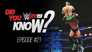 WWE 2K19 Did You Know? Special Woo Entrance, Hidden Super Move, Custom Logos & More! (Episode 21)