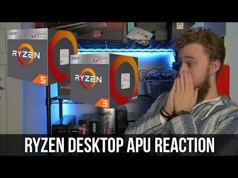 AMD Ryzen APU's - Best Budget CPU? Reaction