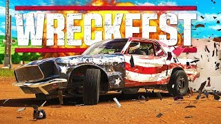 NO BRAKES! - Next Car Game: Wreckfest Gameplay - Wrecks & Races