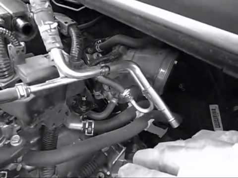 Installation Of Cold Air Intake On 2006 2009 Honda Civic R18