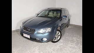 (SOLD) Automatic Subaru Outback AWD Wagon 2004 Review