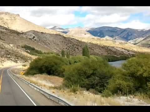 The road from Bariloche to Esquel