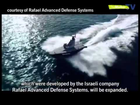 Israel Navy's first unmanned surface vehicle keeps an eye on the sea