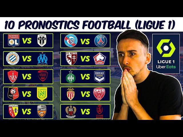 PRONOSTIC FOOT : Mes 10 PRONOSTICS LIGUE 1 (football) 32éme journée