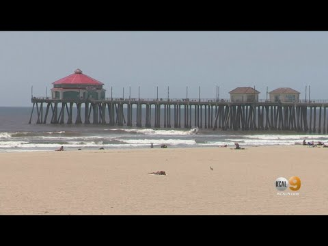Some Orange County Beaches Remain Open As Temperatures Warm Up This Weekend