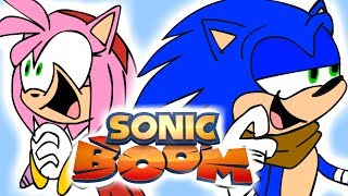 Repeat youtube video Sonic Boom Redesigns