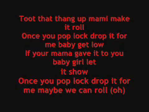pop lock and drop it with lyrics