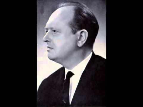 """Renaat Verbruggen, Belgian baritone """"Daar is maar één land"""" ,Brussels Odeon 1942."""