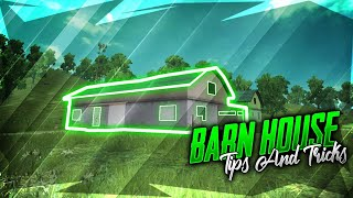BARN HOUSE | Best Tips and Tricks for Rushing and Defending in BARN HOUSE | PUBG MOBILE